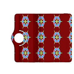 Geometric Seamless Pattern Digital Computer Graphic Kindle Fire HDX 8.9  Flip 360 Case