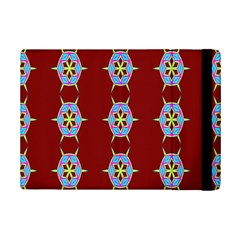 Geometric Seamless Pattern Digital Computer Graphic Ipad Mini 2 Flip Cases