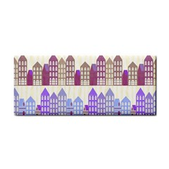 Houses City Pattern Cosmetic Storage Cases