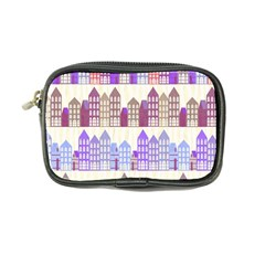 Houses City Pattern Coin Purse