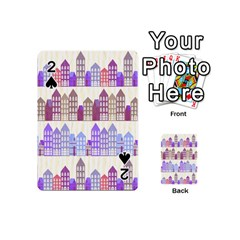Houses City Pattern Playing Cards 54 (Mini)
