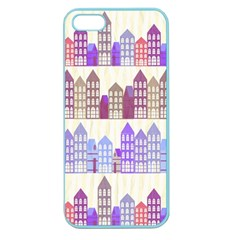 Houses City Pattern Apple Seamless iPhone 5 Case (Color)