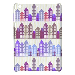 Houses City Pattern Apple Ipad Mini Hardshell Case