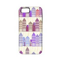 Houses City Pattern Apple iPhone 5 Classic Hardshell Case (PC+Silicone)