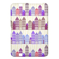 Houses City Pattern Kindle Fire HD 8.9