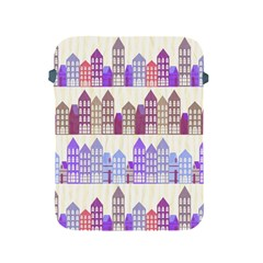 Houses City Pattern Apple Ipad 2/3/4 Protective Soft Cases