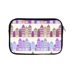 Houses City Pattern Apple iPad Mini Zipper Cases