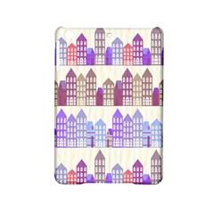 Houses City Pattern Ipad Mini 2 Hardshell Cases