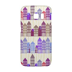 Houses City Pattern Galaxy S6 Edge