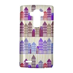 Houses City Pattern LG G4 Hardshell Case