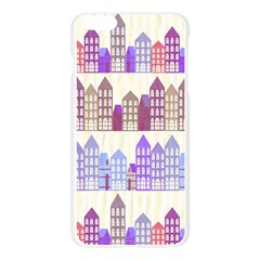 Houses City Pattern Apple Seamless iPhone 6 Plus/6S Plus Case (Transparent)