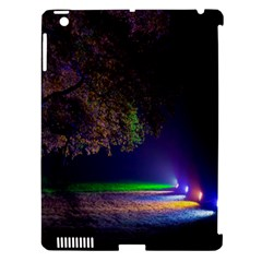 Illuminated Trees At Night Apple iPad 3/4 Hardshell Case (Compatible with Smart Cover)