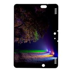 Illuminated Trees At Night Kindle Fire Hdx 8 9  Hardshell Case