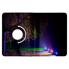 Illuminated Trees At Night Kindle Fire HDX Flip 360 Case