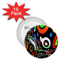 Background Balls Circles 1.75  Buttons (10 pack)