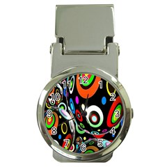 Background Balls Circles Money Clip Watches