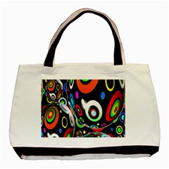 Background Balls Circles Basic Tote Bag