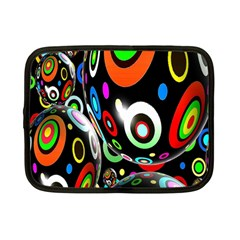 Background Balls Circles Netbook Case (small)