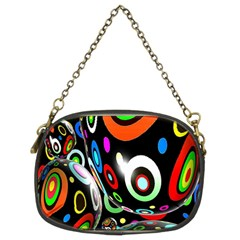 Background Balls Circles Chain Purses (Two Sides)