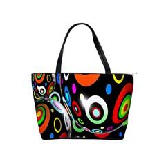 Background Balls Circles Shoulder Handbags
