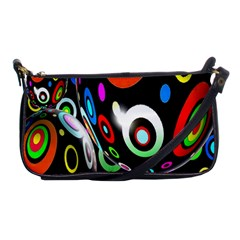 Background Balls Circles Shoulder Clutch Bags