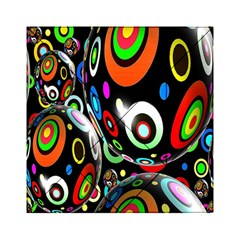 Background Balls Circles Acrylic Tangram Puzzle (6  x 6 )