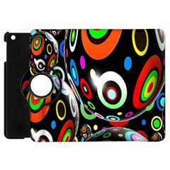 Background Balls Circles Apple Ipad Mini Flip 360 Case