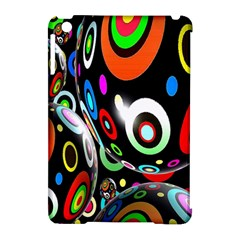 Background Balls Circles Apple Ipad Mini Hardshell Case (compatible With Smart Cover)