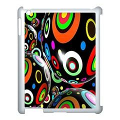 Background Balls Circles Apple iPad 3/4 Case (White)