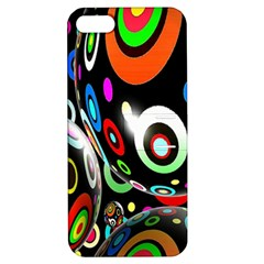 Background Balls Circles Apple Iphone 5 Hardshell Case With Stand