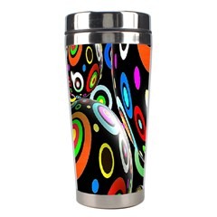 Background Balls Circles Stainless Steel Travel Tumblers