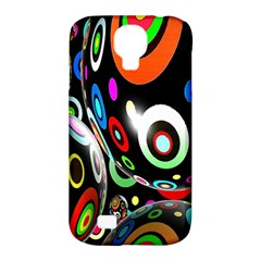 Background Balls Circles Samsung Galaxy S4 Classic Hardshell Case (pc+silicone)