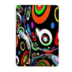 Background Balls Circles Samsung Galaxy Tab 2 (10 1 ) P5100 Hardshell Case