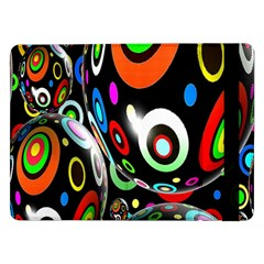 Background Balls Circles Samsung Galaxy Tab Pro 12.2  Flip Case