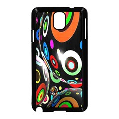 Background Balls Circles Samsung Galaxy Note 3 Neo Hardshell Case (black)