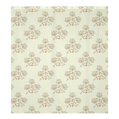 Seamless Floral Pattern Shower Curtain 66  x 72  (Large)