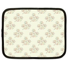 Seamless Floral Pattern Netbook Case (XL)