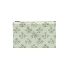 Seamless Floral Pattern Cosmetic Bag (Small)