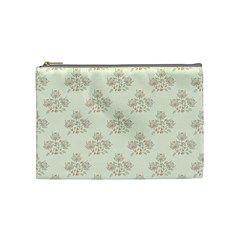 Seamless Floral Pattern Cosmetic Bag (Medium)