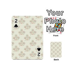 Seamless Floral Pattern Playing Cards 54 (Mini)