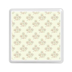 Seamless Floral Pattern Memory Card Reader (Square)