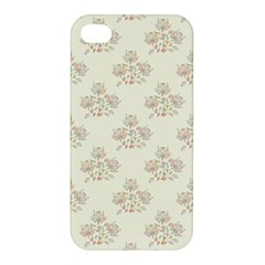 Seamless Floral Pattern Apple iPhone 4/4S Hardshell Case