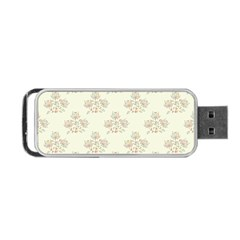 Seamless Floral Pattern Portable USB Flash (One Side)