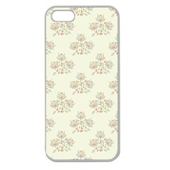 Seamless Floral Pattern Apple Seamless iPhone 5 Case (Clear)