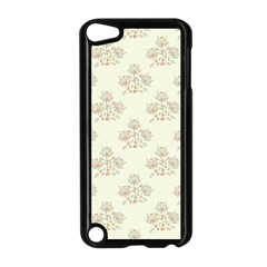 Seamless Floral Pattern Apple iPod Touch 5 Case (Black)