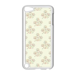 Seamless Floral Pattern Apple iPod Touch 5 Case (White)