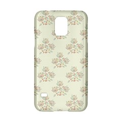 Seamless Floral Pattern Samsung Galaxy S5 Hardshell Case