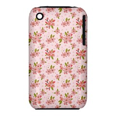 Beautiful hand drawn flowers pattern iPhone 3S/3GS
