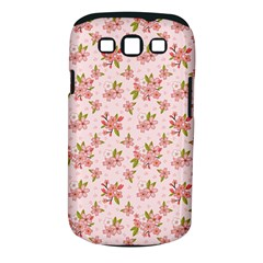 Beautiful hand drawn flowers pattern Samsung Galaxy S III Classic Hardshell Case (PC+Silicone)
