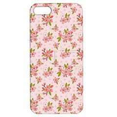 Beautiful hand drawn flowers pattern Apple iPhone 5 Hardshell Case with Stand
